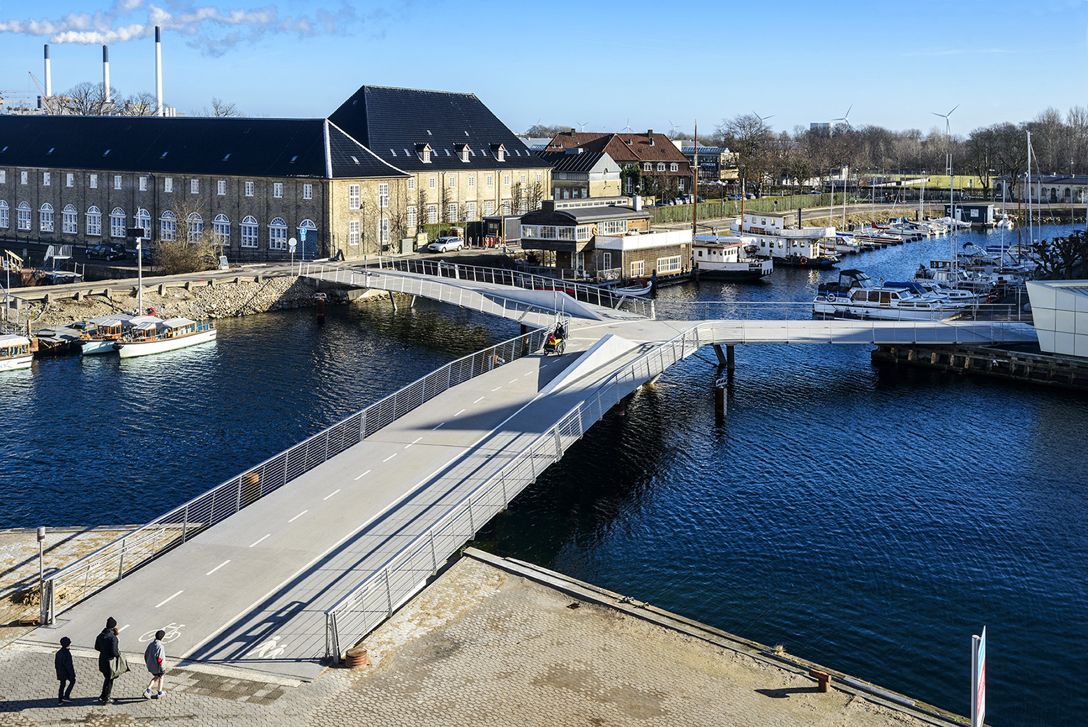 Butterfly Bridge / Dietmar Feichtinger Architectes, © Christian Lindgren