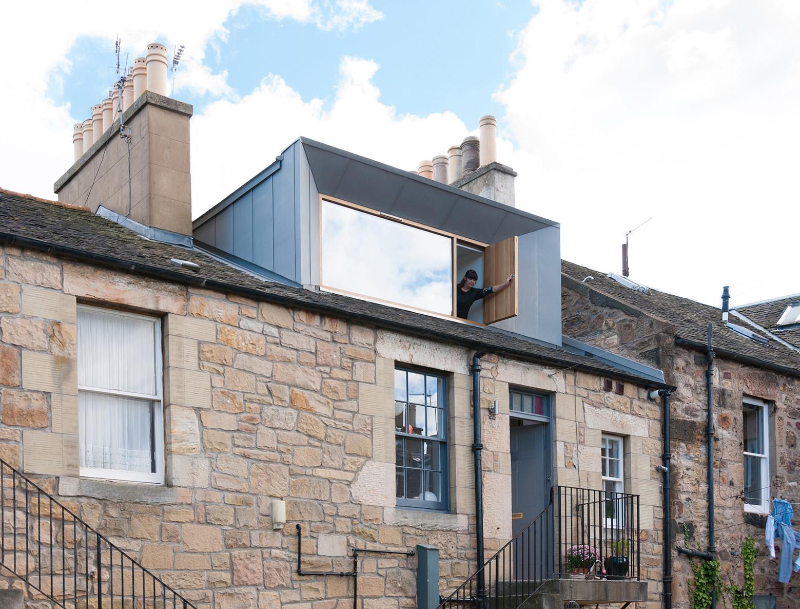 Regency dormer konishi gaffney architects archdaily for Architecture zinc