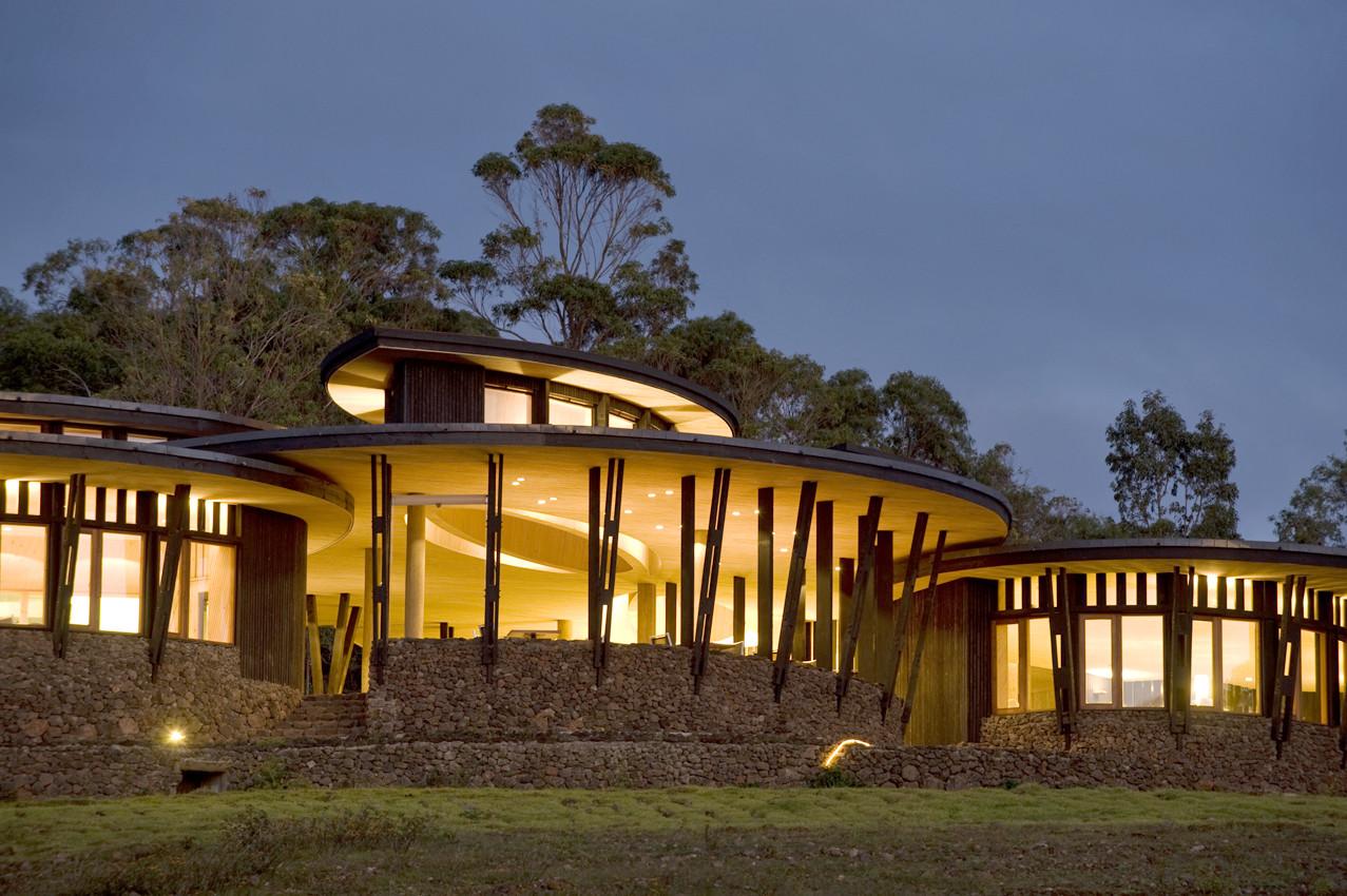 Hotel Explora. Image Cortesia de Magíster en Construcción Sustentable UC
