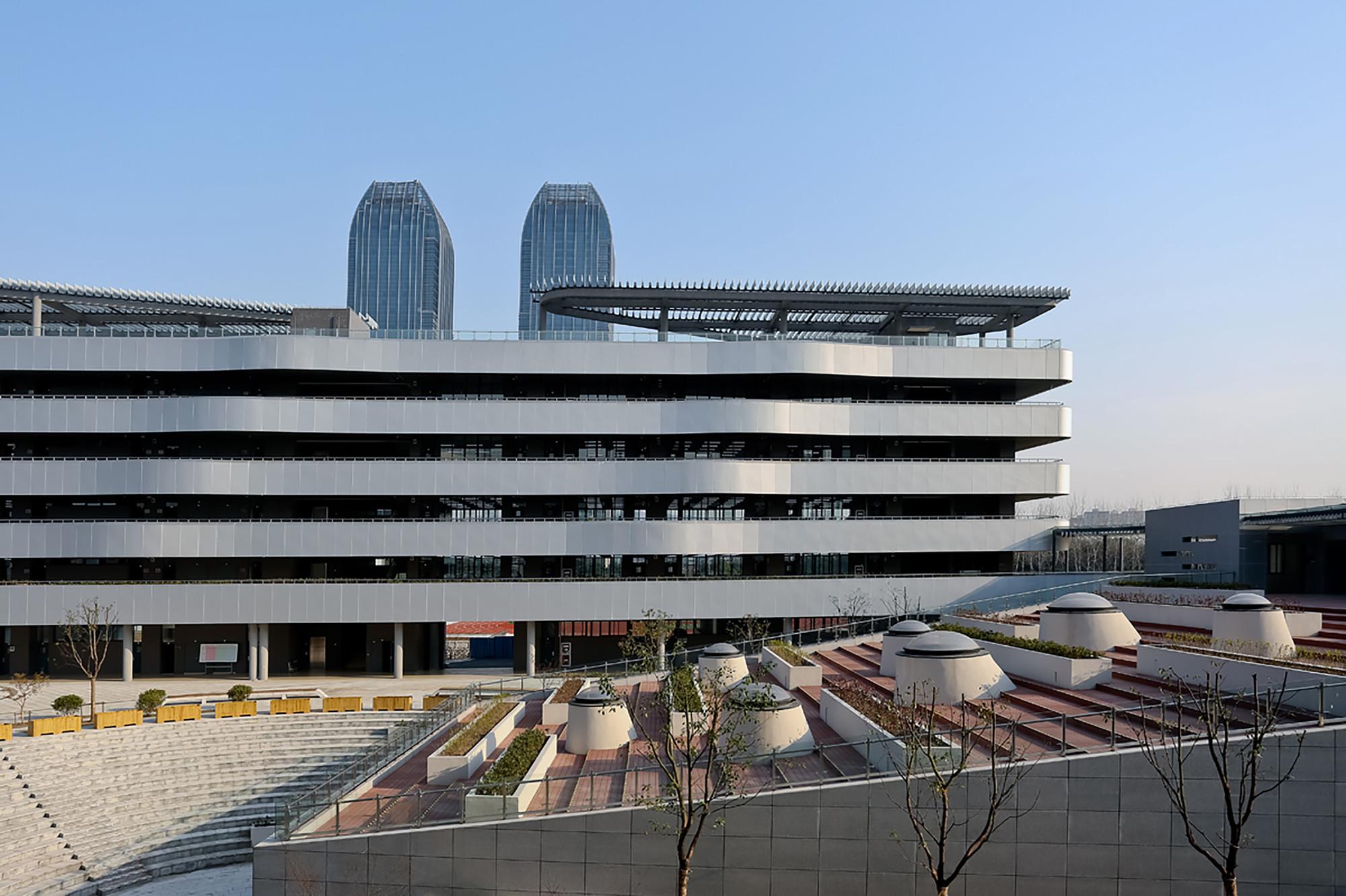 Liyuan Middle School  / Minax Architects, © Su Shengliang
