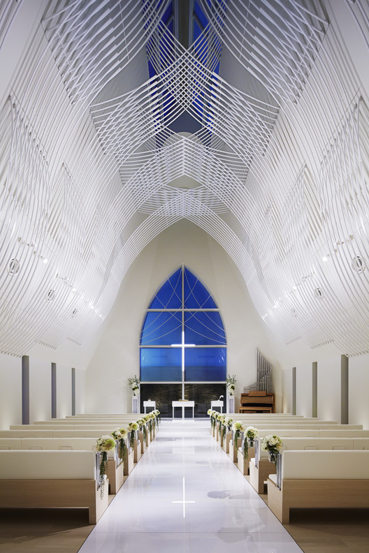 St. Voile Chapel / Kasahara Design Work, © Nacasa & Partners