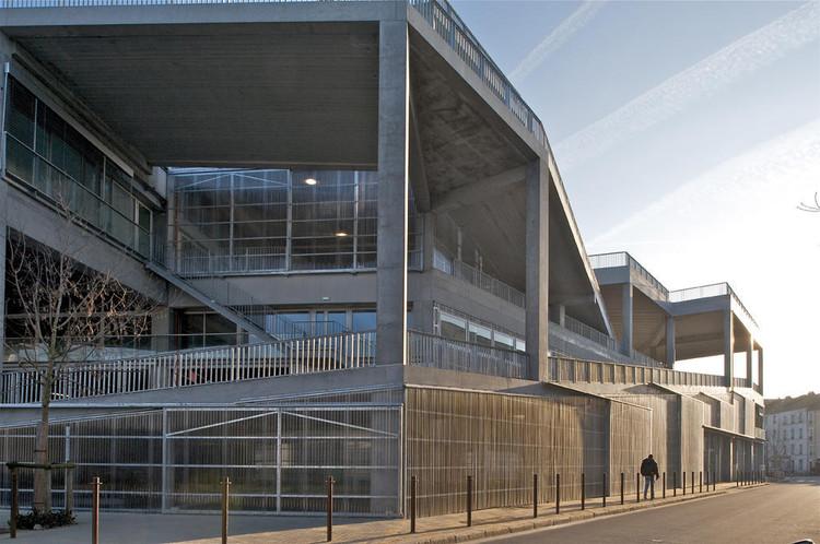 Escuela de arquitectura de Nantes / Lacaton & Vassal. Imagen © Philippe Ruault