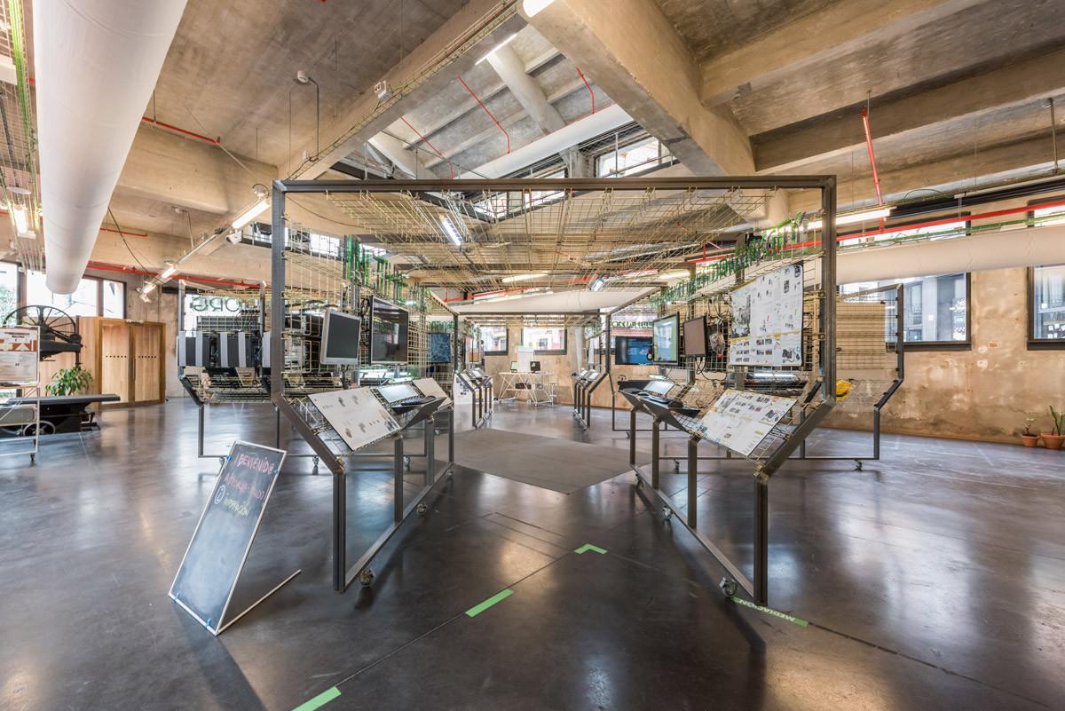 Ojo al Data: espacio expositivo modular, por PKMN Arquitectura, © Javier de Paz García