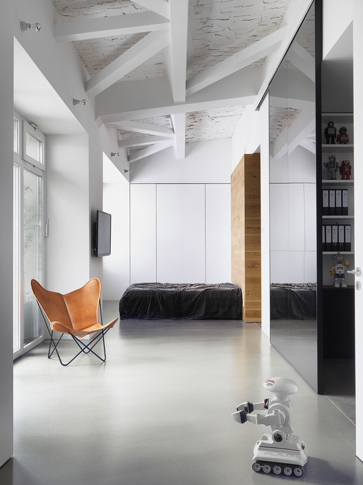 Photographer's Loft / Bruzkus Batek Architekten, Courtesy of Bruzkus Batek Architekten