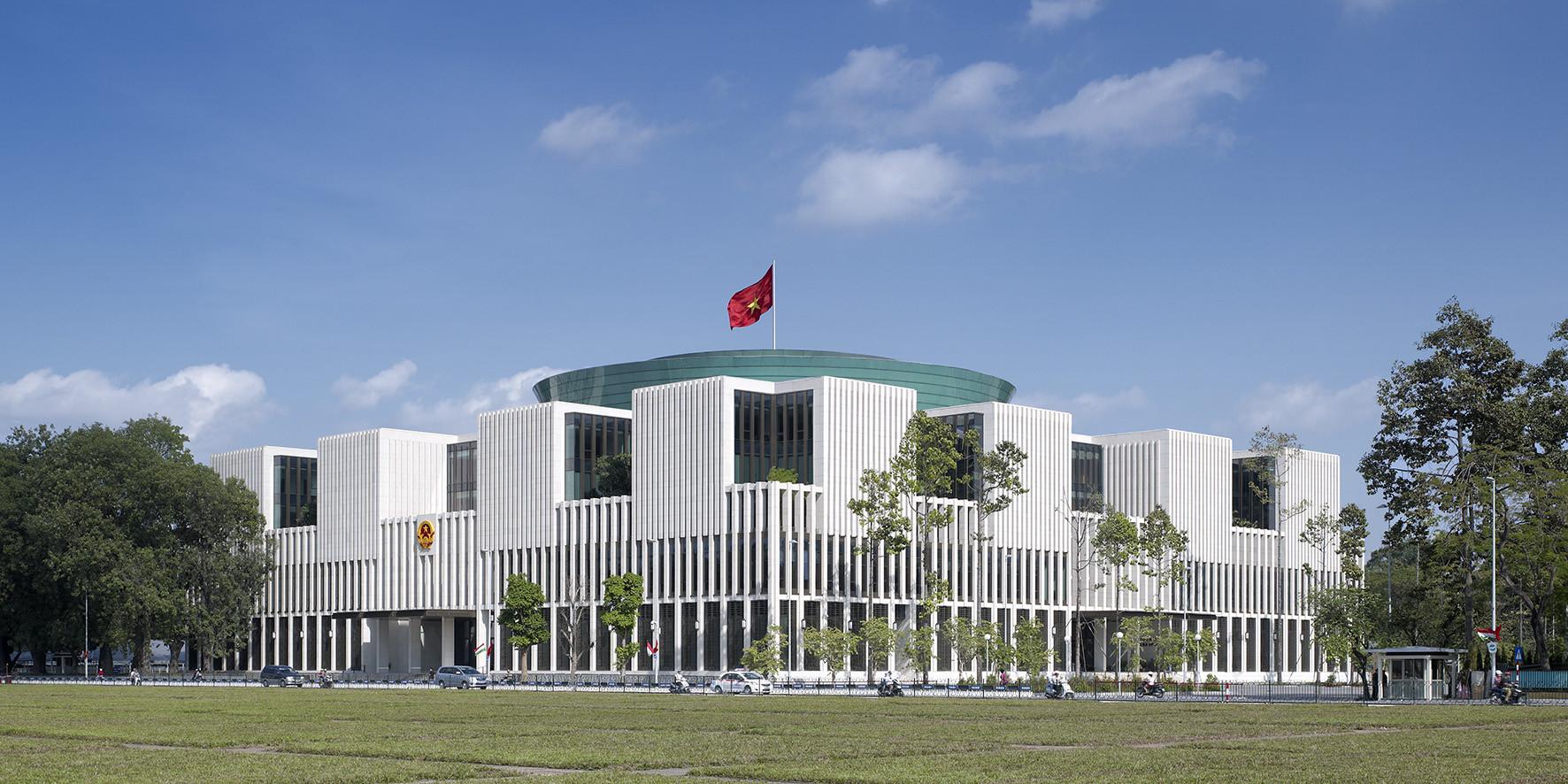 Vietnamese national assembly in hanoi gmp architekten for National house builders