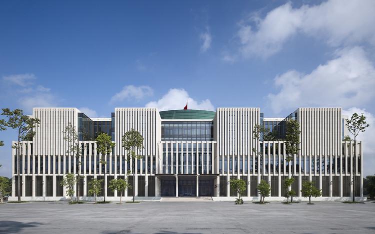 Asamblea Nacional vietnamita en Hanoi / gmp architekten, Cortesía de gmp architekten