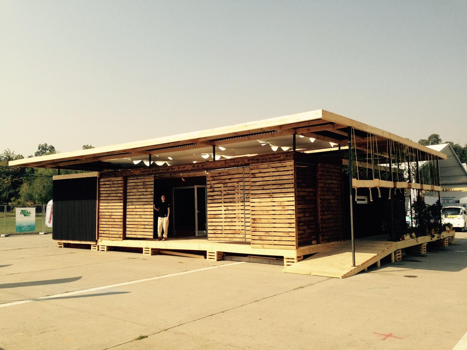Casa Parrón gana la primera competencia latinoamericana de viviendas sustentables, Casa Parrón S-27. Image Cortesia de Gonzalo Verdugo