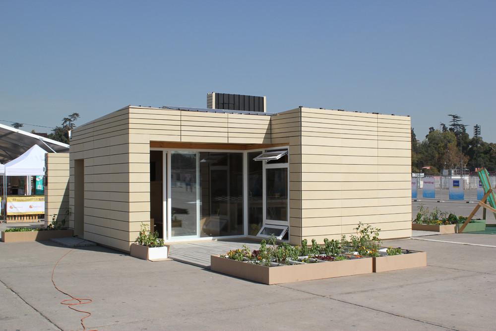 Casa Tempero. Image Cortesia de Construye Solar