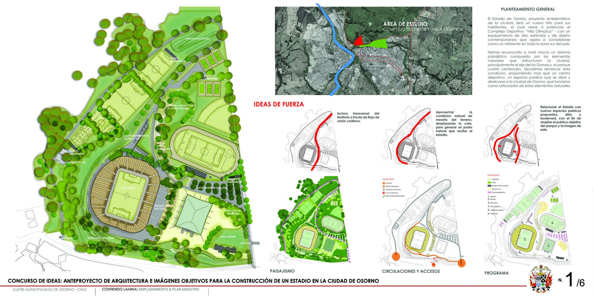 Tercer lugar en concurso de ideas para nuevo estadio de - Complejo deportivo el mayorazgo ...