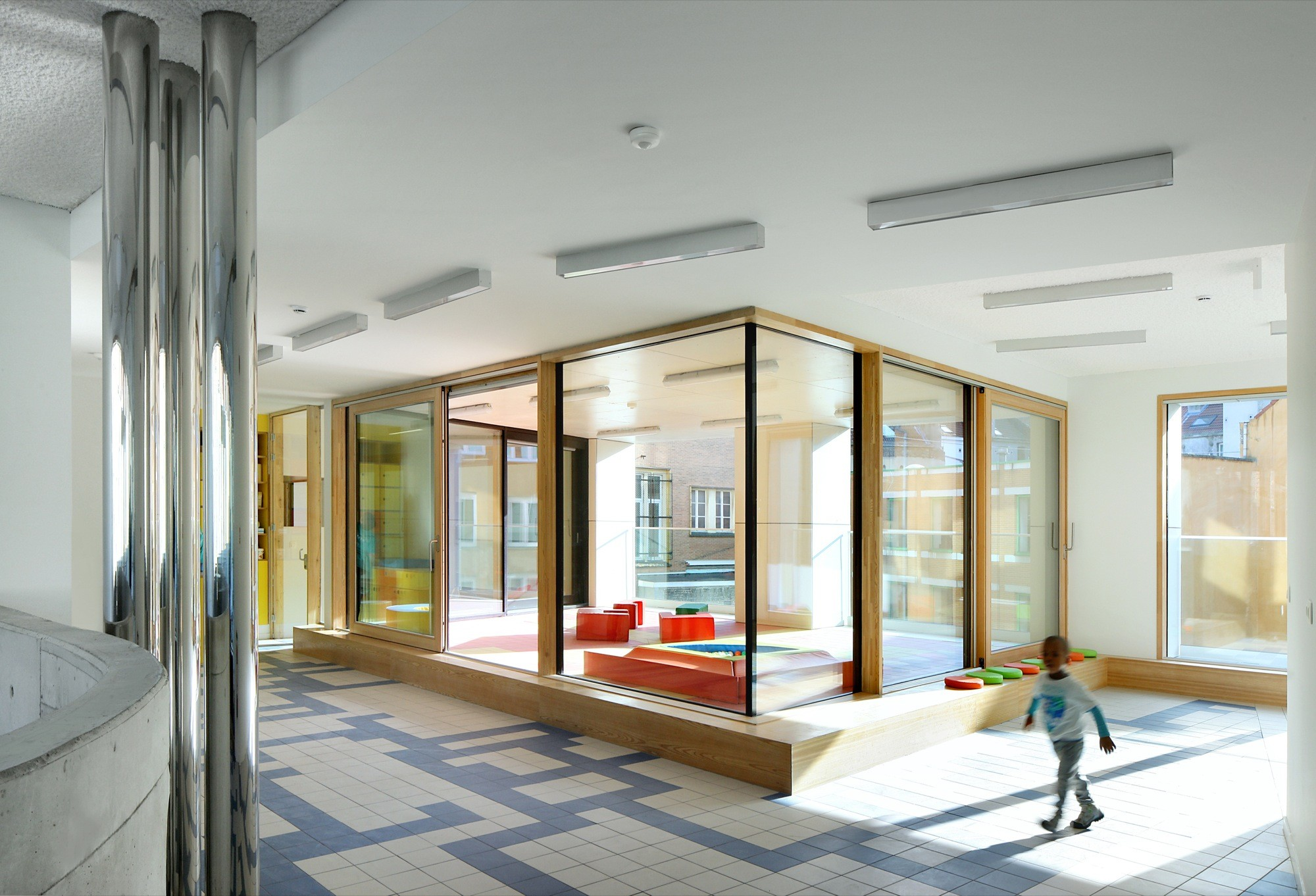Child Day Care Centre Burobill ZAmpone architectuur