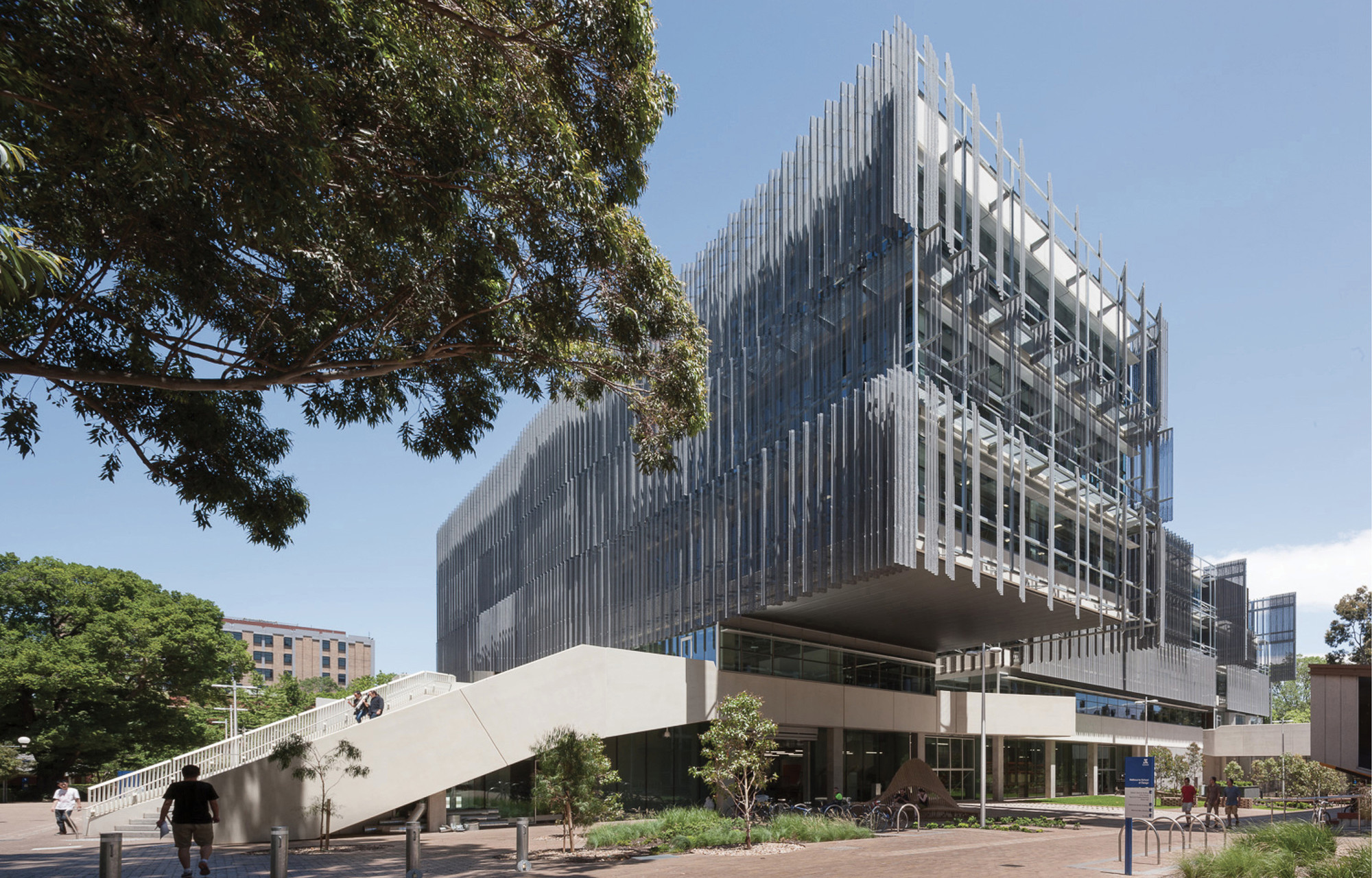 Gallery of melbourne school of design university of for Architects melbourne