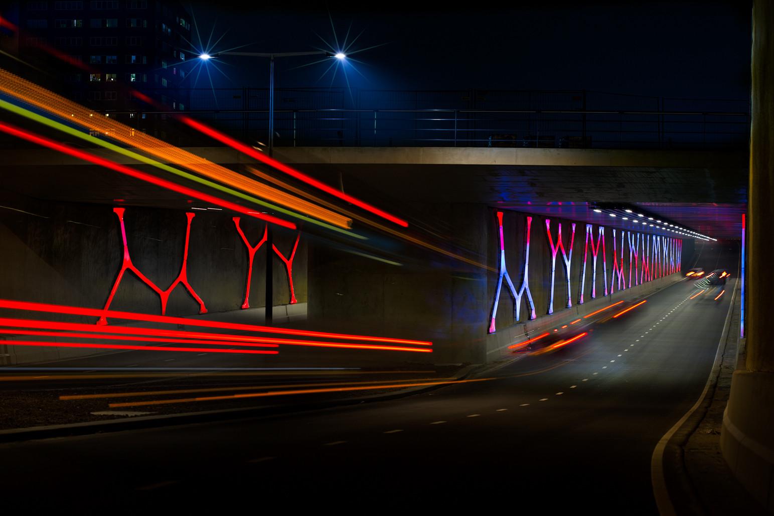 Dolmen Light, Países Bajos; por Titia Ex © Theo Berends Fotografía. Image Cortesia de Lamp Lighting