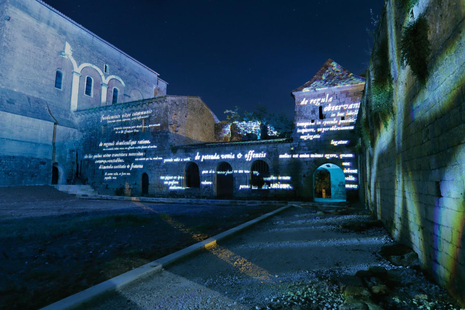 Les Murmures de Saint-Avit-Sénieur, Francia; por Lionel Bessieres ©Quartiers Lumieres. Image Cortesia de Lamp Lighting