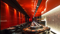 Zen Sushi Restaurant / Carlo Berarducci Architecture