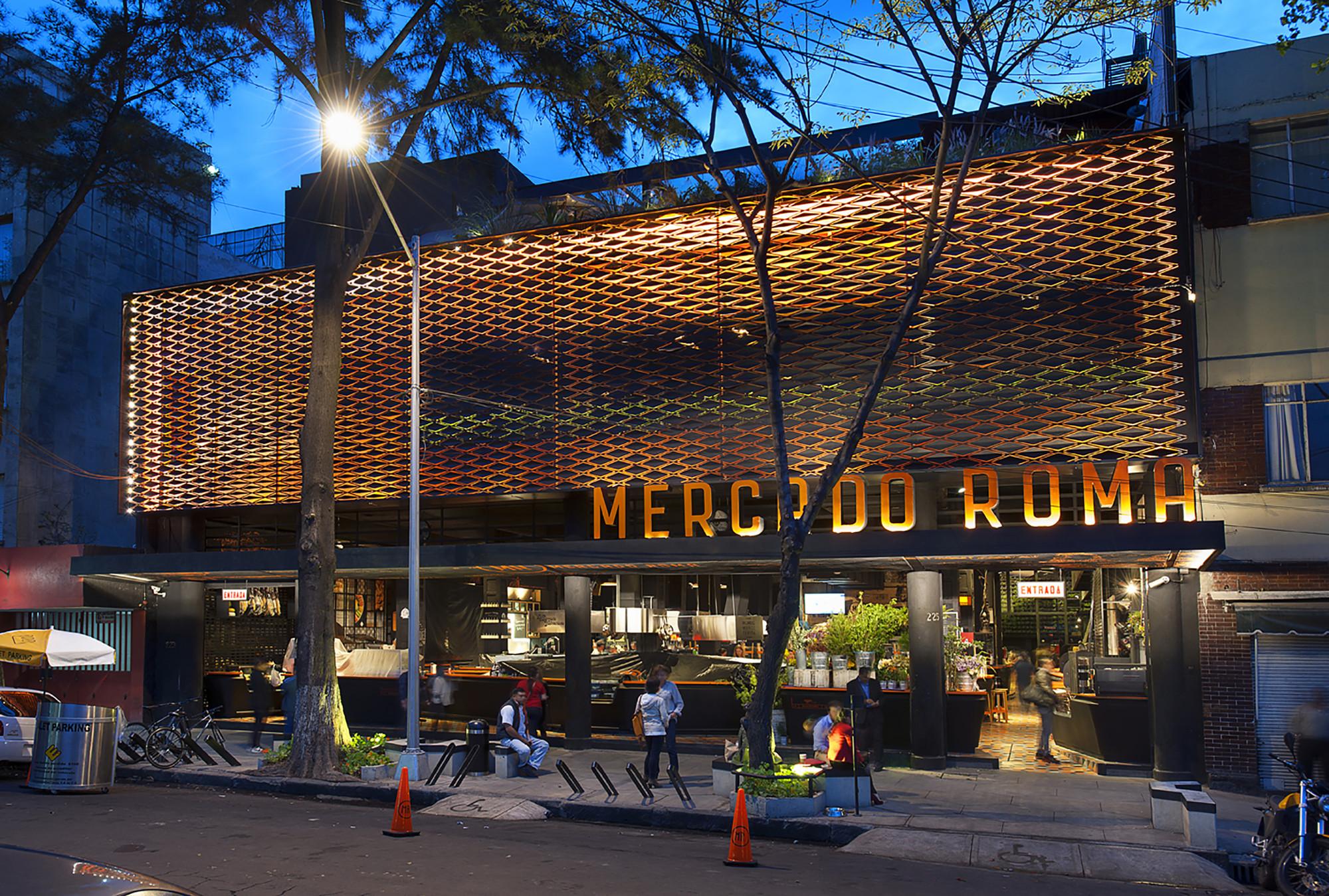 Mercado Roma / Rojkind Arquitectos + Cadena y Asociados. Image © Jaime Navarro