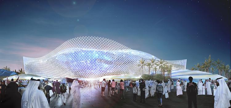 Qatar 2022 presenta su quinto estadio: Al Rayyan Stadiu diseñado por Pattern Architects, Cortesía de SC