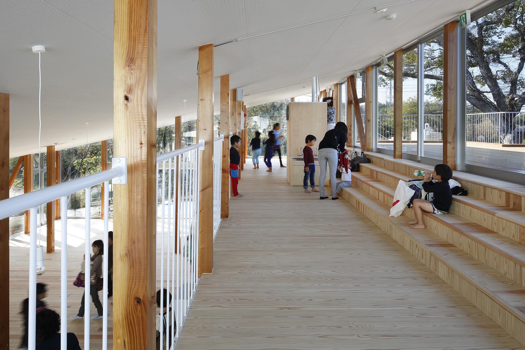 Architecture Design Workshop gallery of hakusui nursery school / yamazaki kentaro design