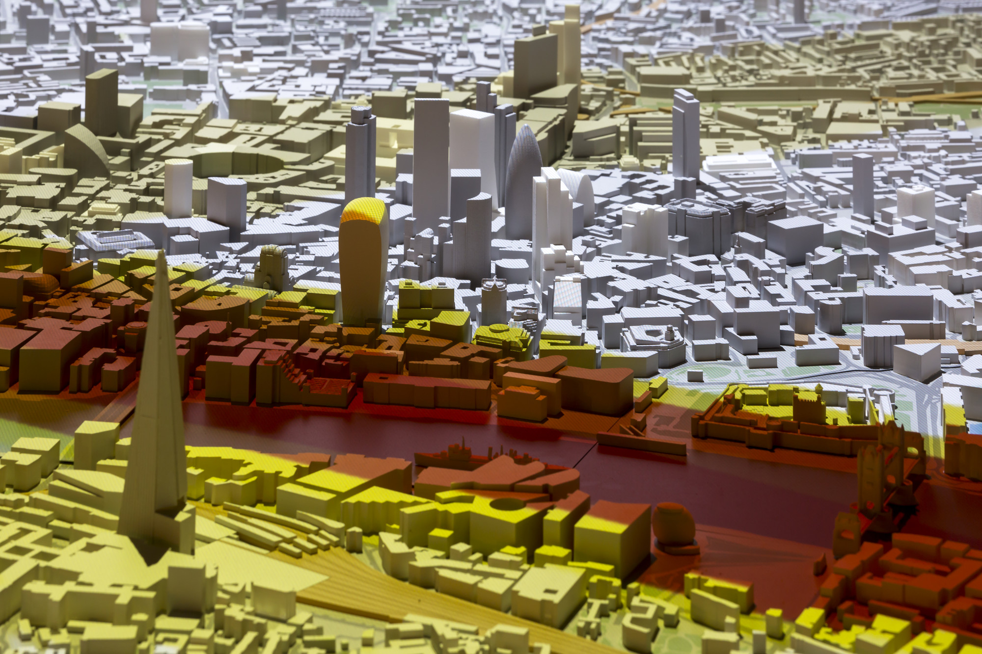Gallery of New London Architecture Unveils Updated 12000 Scale
