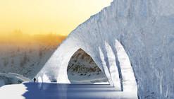 Estudiantes de TU/e van a construir un puente de Da Vinci en hielo