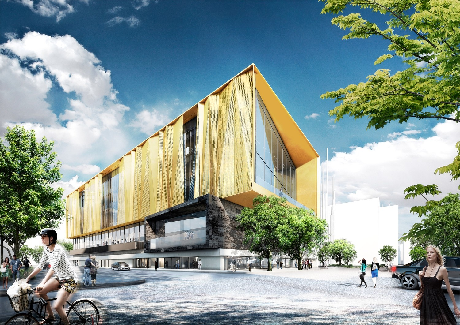 Schmidt hammer lassen reveal chirstchurch 39 s new central for Architects creative christchurch