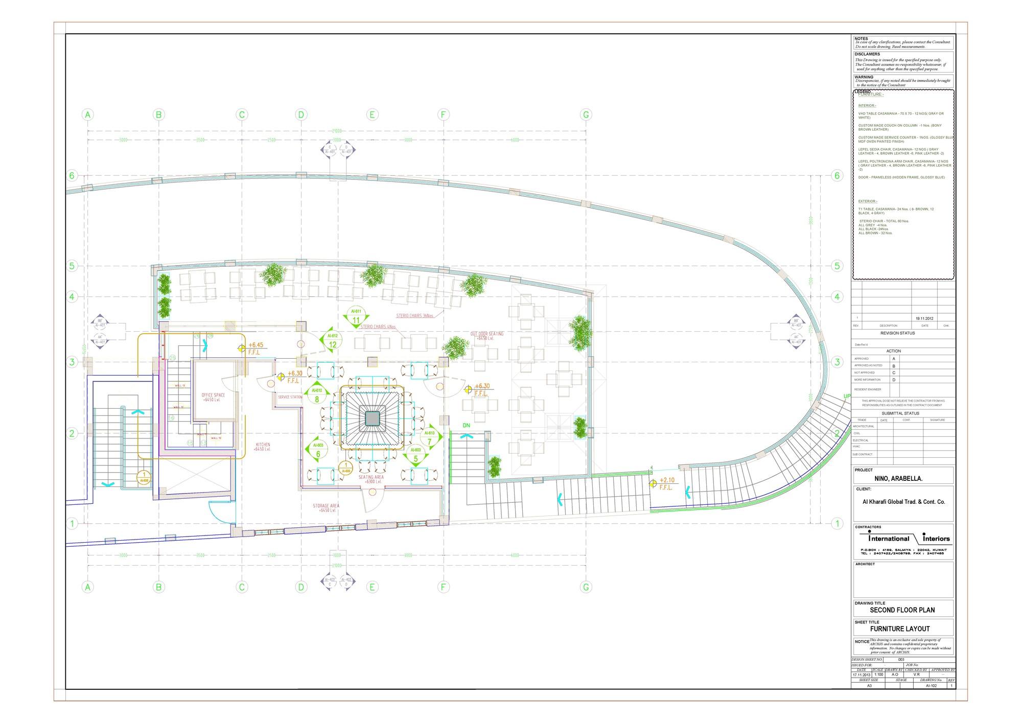gallery of nino restaurant jassim alshehab architects 11 floor plan