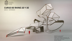 Curso de Rhino 2D y 3D / Escuela de Arquitectura UC