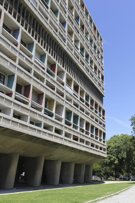 cl ssicos da arquitetura unite d 39 habitation le corbusier archdaily brasil. Black Bedroom Furniture Sets. Home Design Ideas