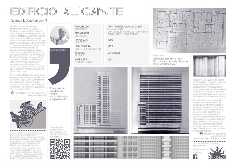 Ficha Alicante. Image Cortesia de Jaume Chicoy