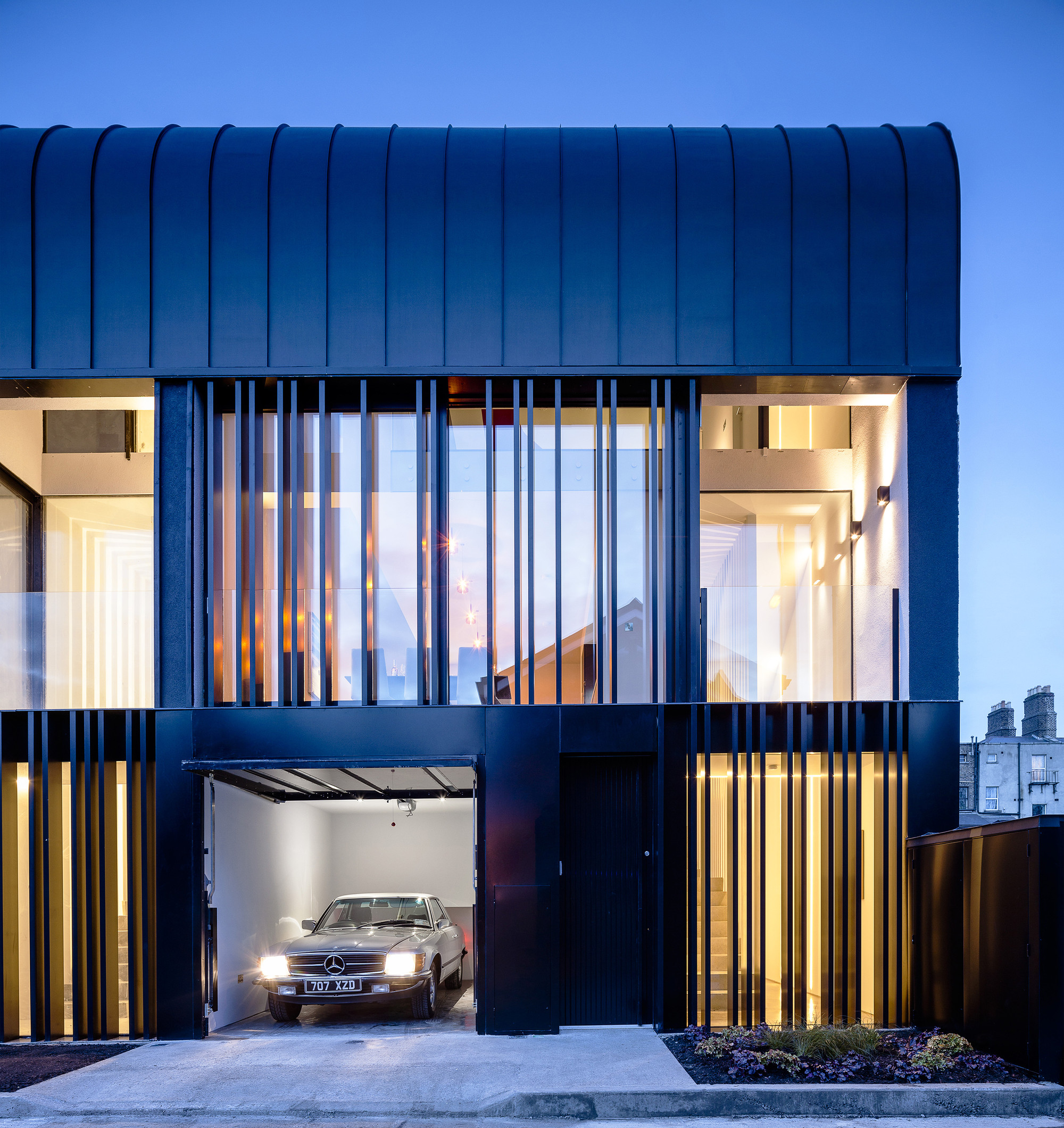 Small Spaces Architects Dublin Ireland Houses: Percy Lane Luxury Homes / ODOS Architects