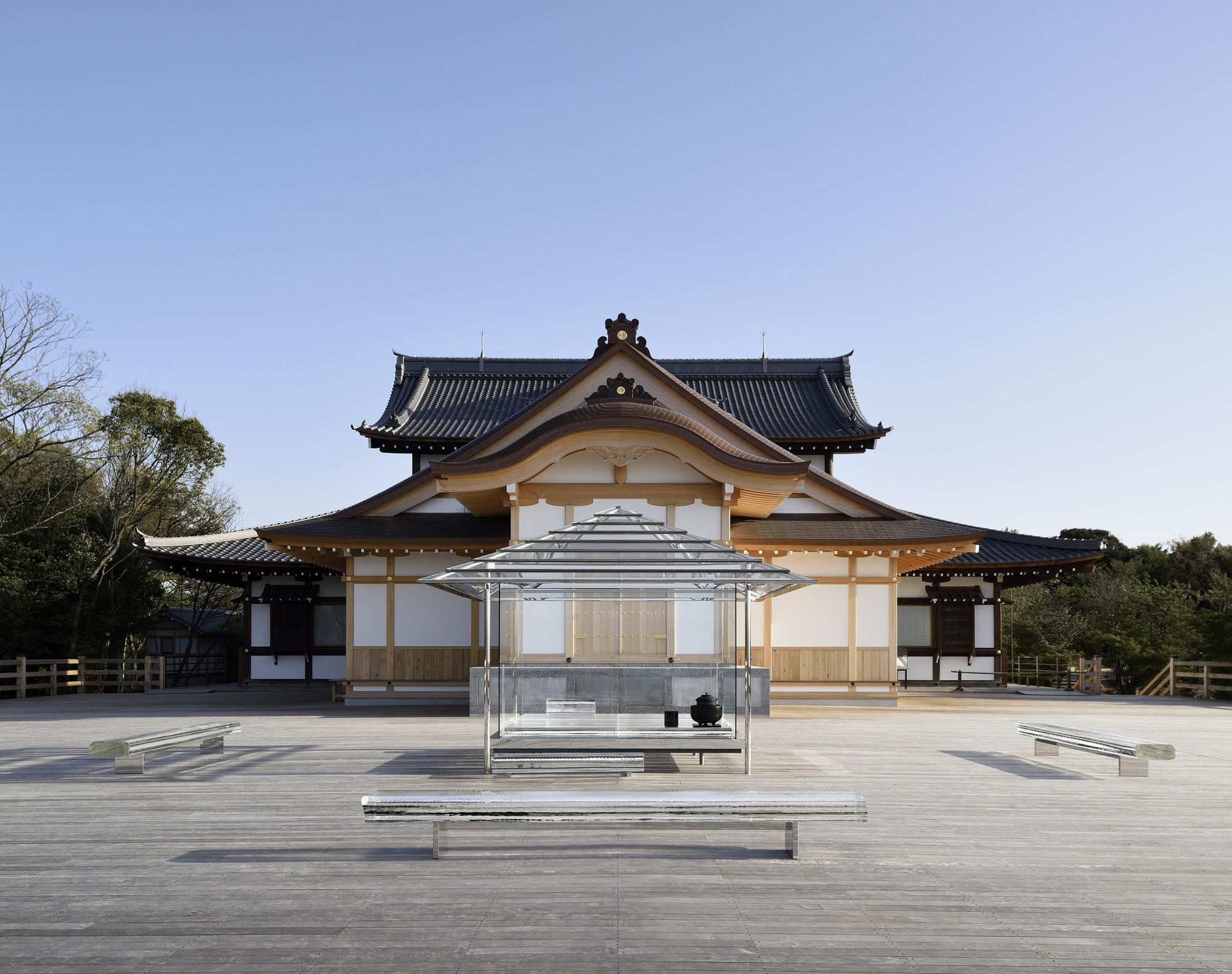 Casa del té vidriada KOU-AN / Tokujin Yoshioka, © Yasutake Kondo