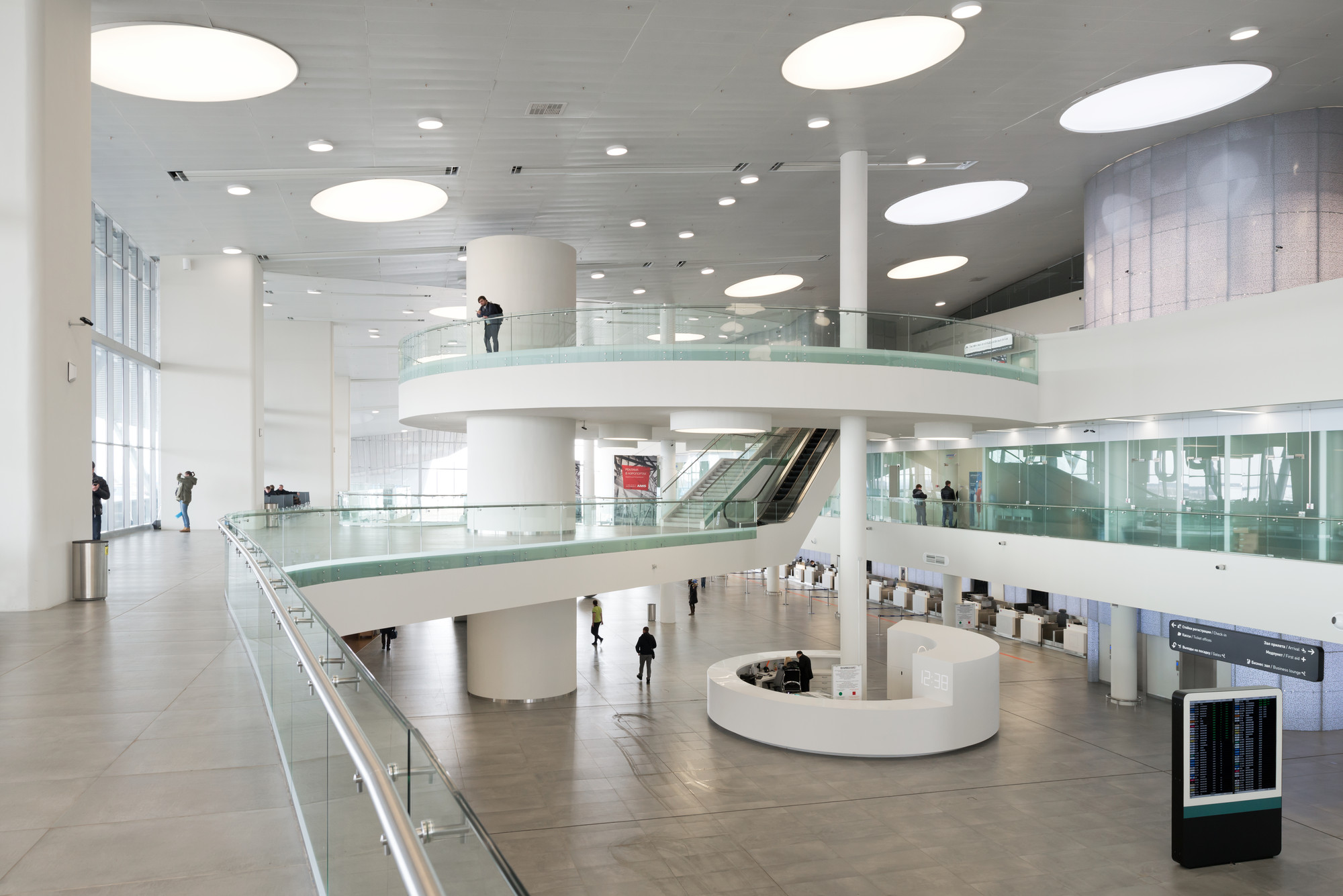 Kurumoch International Airport and VIP-Lounges / Nefa Architects, © Ilya Ivanov