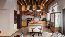 Rozove Café / modelina architekci