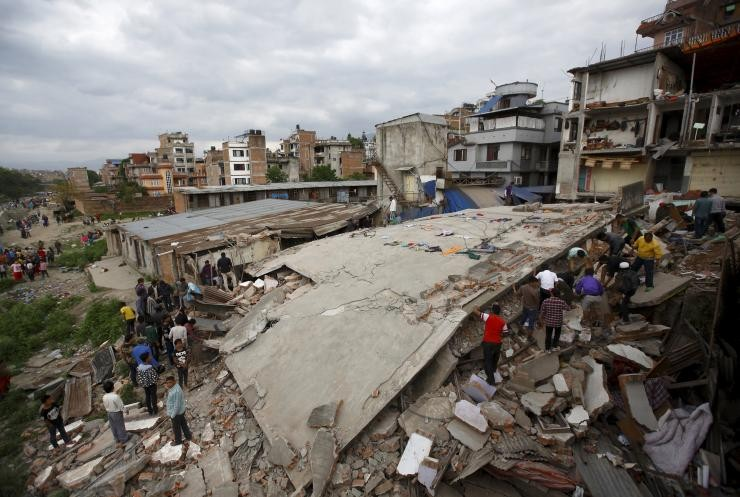 RIBA Seeks Architects In The Wake Of The Himalayan Earthquake, © Navesh Chitrakar. Courtesy of Reuters