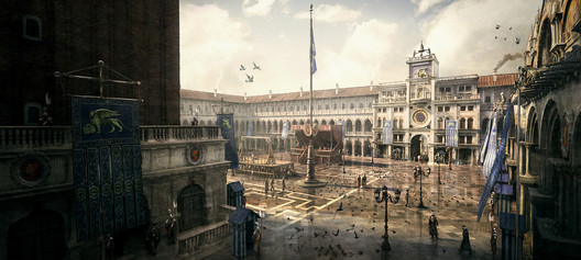 Concept art from Assassin's Creed II. Image © Ubisoft Montreal