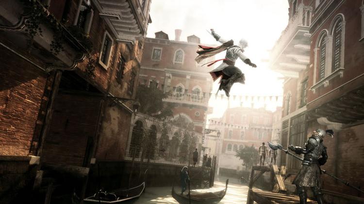 Vienvenidos (sic) a Venecia. Image © Ubisoft Montreal
