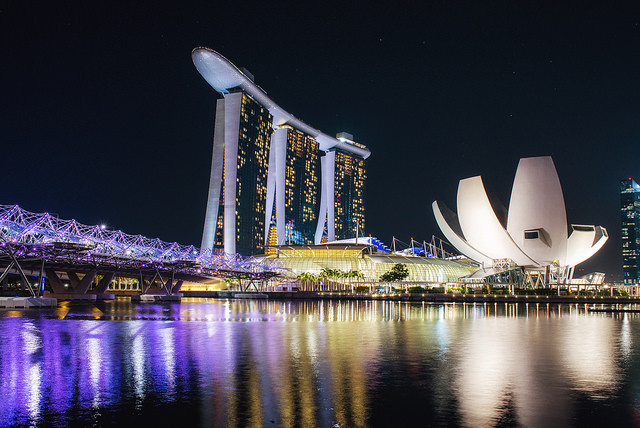 Singapore. Imagen © Flickr CC User Leonid Yaitskiy