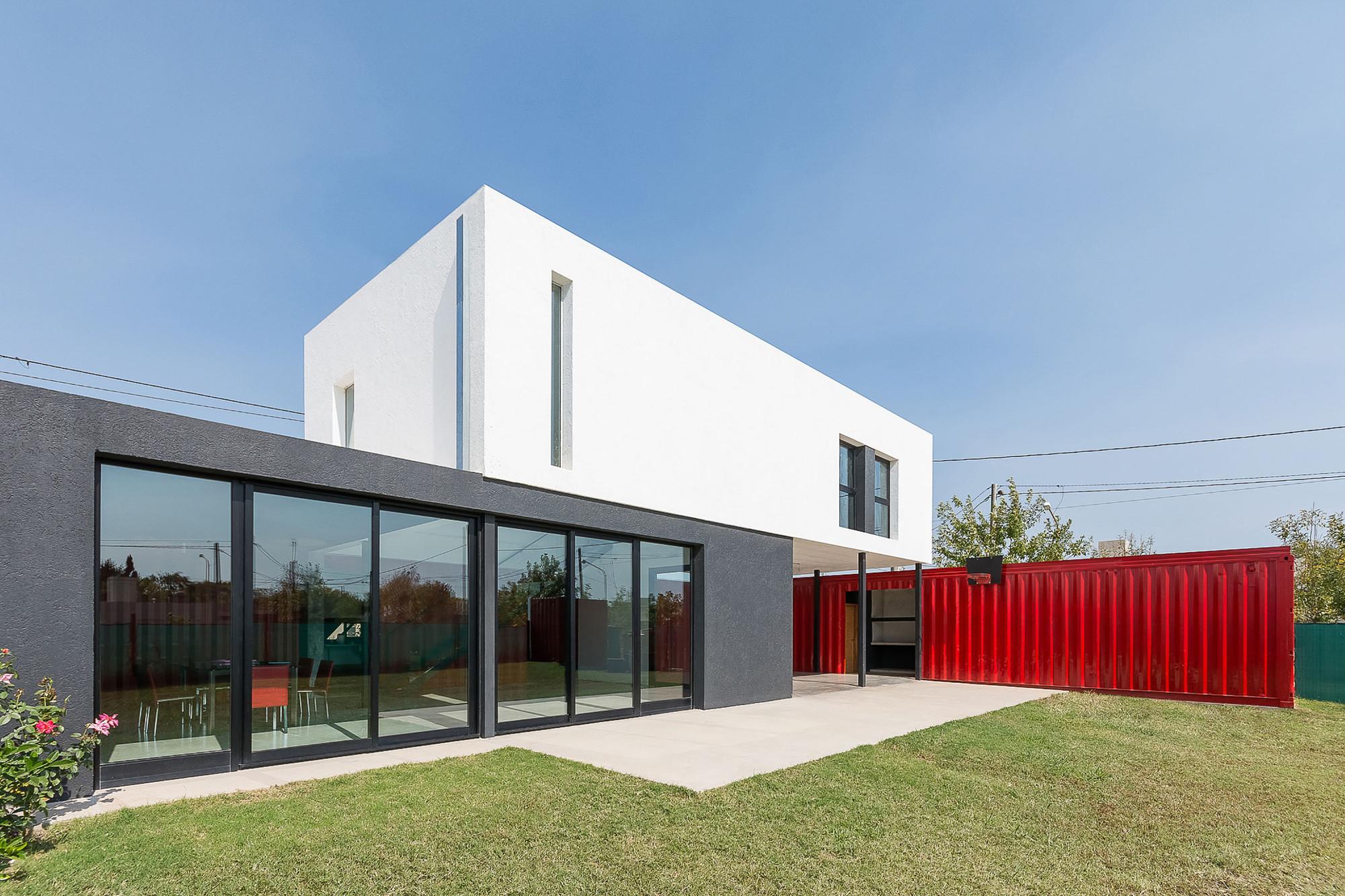 Casa Container / José Schreiber Arquitecto ArchDaily Brasil #B9121A 2000x1333 Banheiro De Container