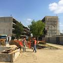 En construcción: Área deportiva