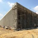 En construcción: Edificio de Seguridad