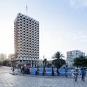Hotel Independence, Dakar (Senegal), by Henri Chomette and Roland Depret, 1973-1978. Image © Iwan Baan