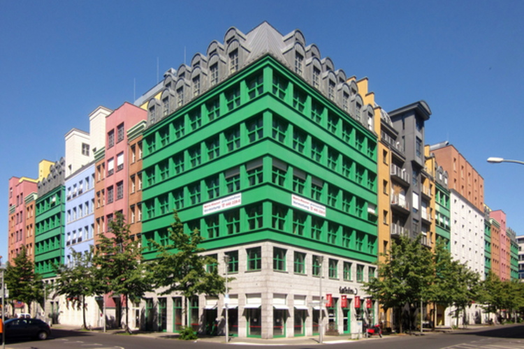 Quartier Schützenstrasse. Imagen © <a href='https://creativecommons.org/licenses/by-sa/3.0/'>Wikimedia</a> CC usuario Beek100