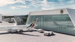 En construcción: BNKR Arquitectura diseña proyecto de los Hangares Presidenciales de México
