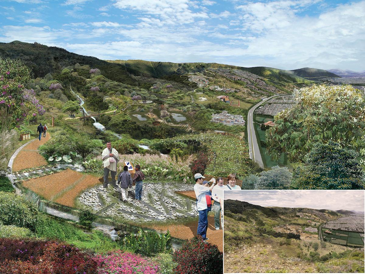 Bogotá, Colombia: Corredor Ecológico y Recreativo de los Cerros Orientales, Cortesia de Diana Wiesner