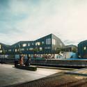 Waterfront. Image © Dimension Design, courtesy of Kullegaard