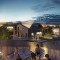Rooftop gardens. Image © Dimension Design, courtesy of Kullegaard