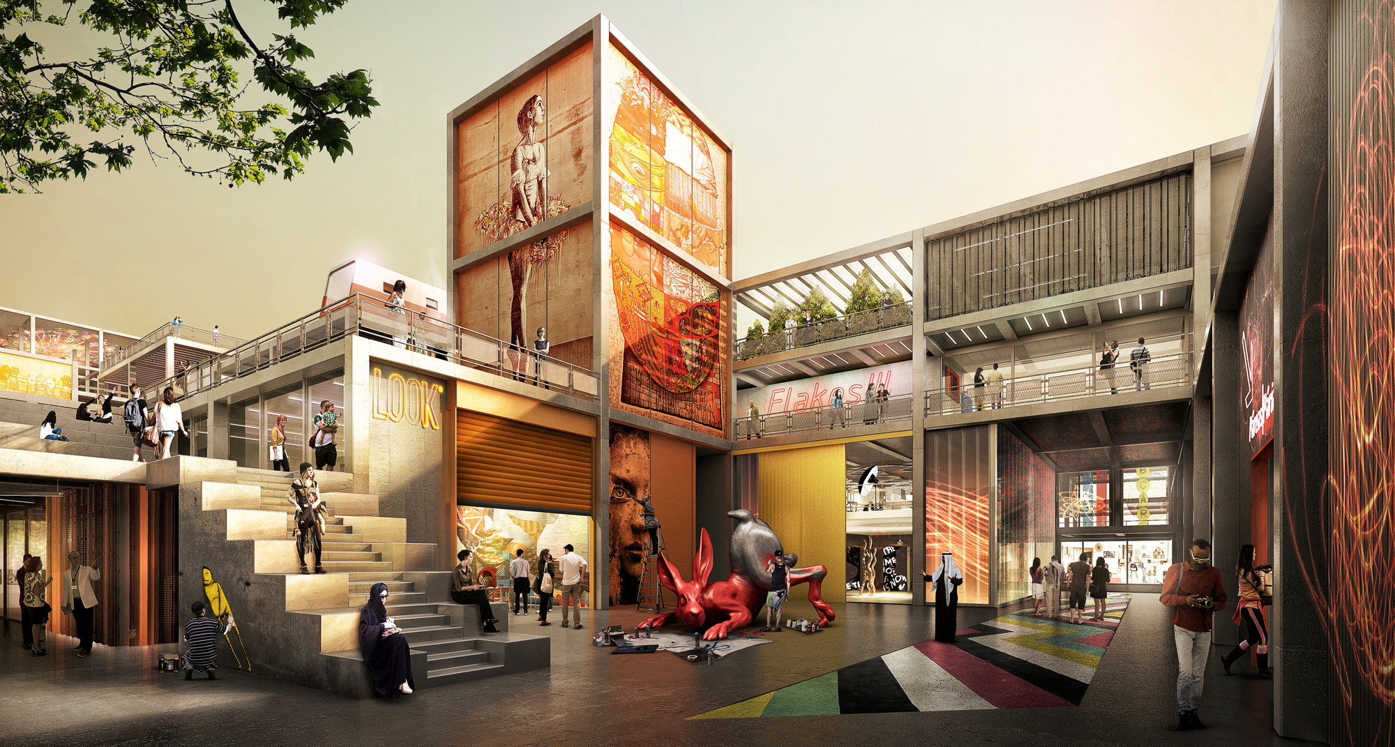 Dubai design district taps foster partners to design its for Design district