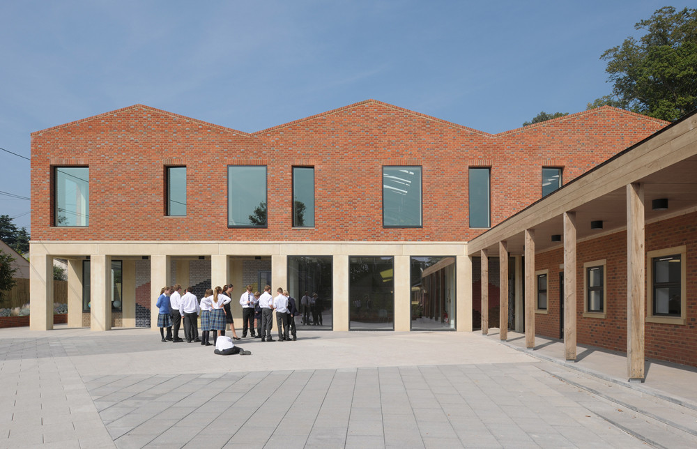 Fitzjames Teaching and Learning Centre / Feilden Fowles, © David Grandorge