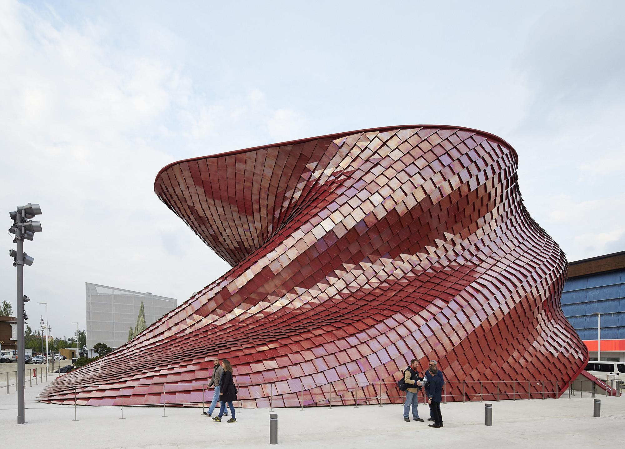 Expo Milão 2015: Pavilhão de Vanke / Daniel Libeskind, © Hufton+Crow