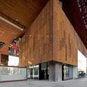 Gabriela Mistral Cultural Center / Cristian Fernandez Arquitectos, Lateral Arquitectura & Diseño. Image © Nico Saieh