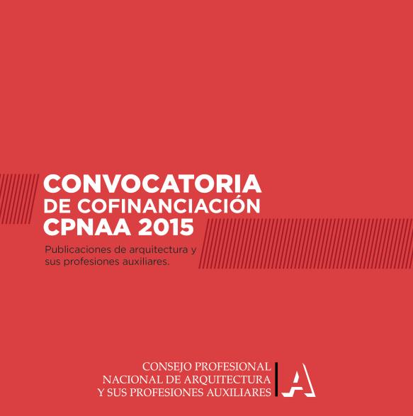 Convocatoria CPNAA 2015 / Colombia